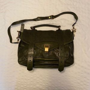 Proenza Schouler PS1 medium bag - military green